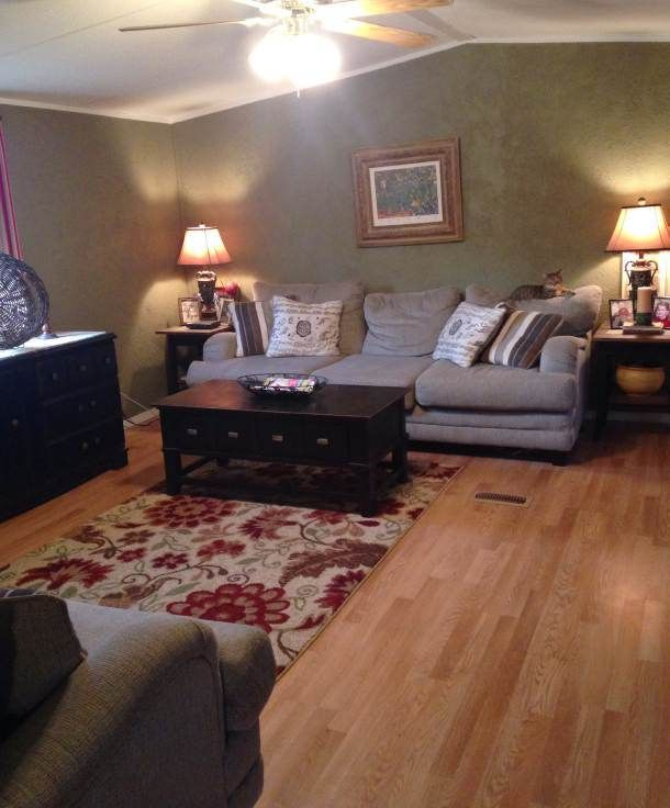 Farmhouse Inspired Manufactured Home Makeover Mobile Home Living