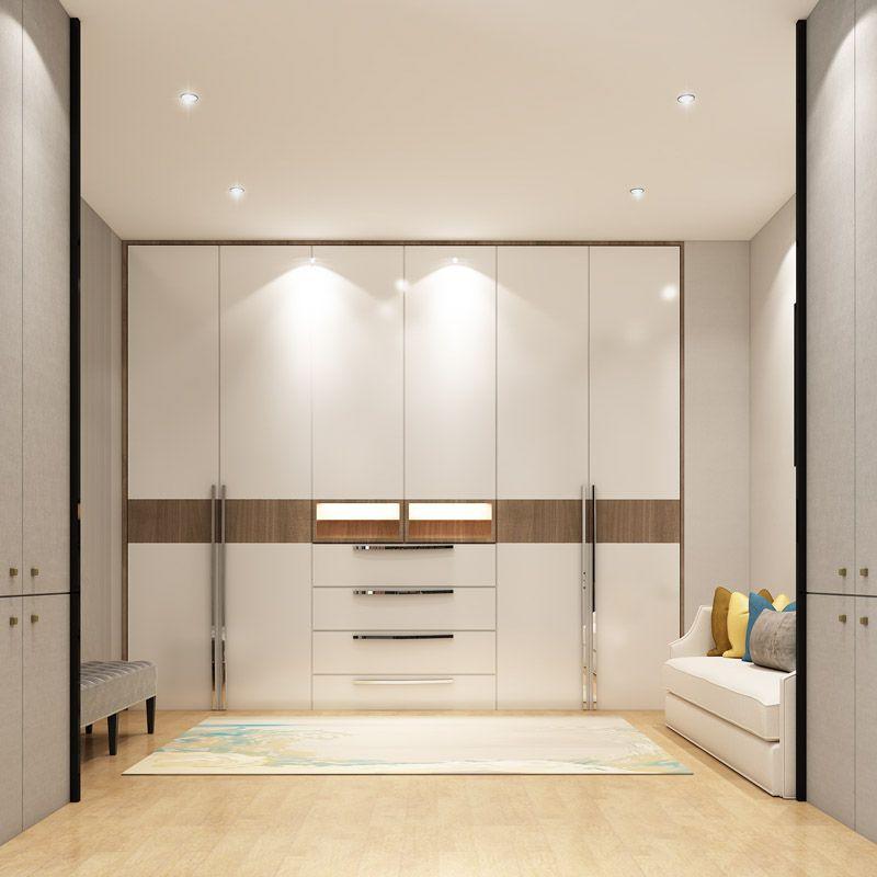 7 Latest Modern Bedroom Cupboard Design With 3d Views Bedroom