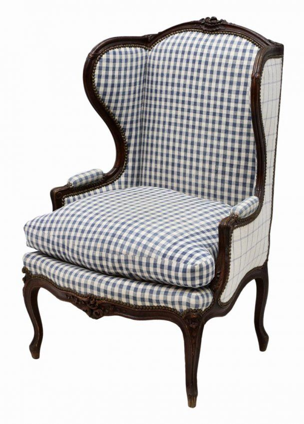 Country Style Wingback Chairs Nuna Leaf Rocking Chair Antique French Louis Xv Have A Seat In 2019