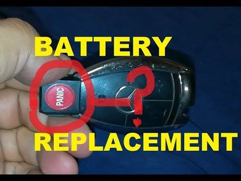Mercedes Key Fob Battery Replacement Mercedes Key Fob Battery