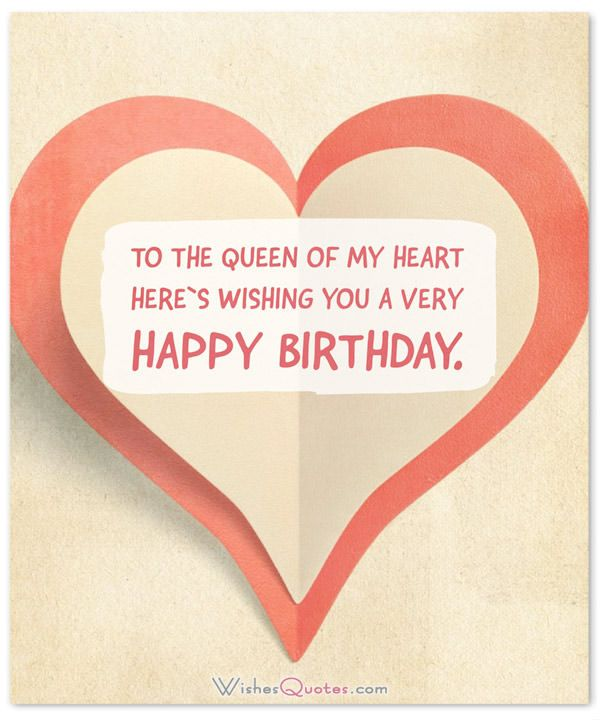 Romantic And Passionate Birthday Messages For Wife Birthday