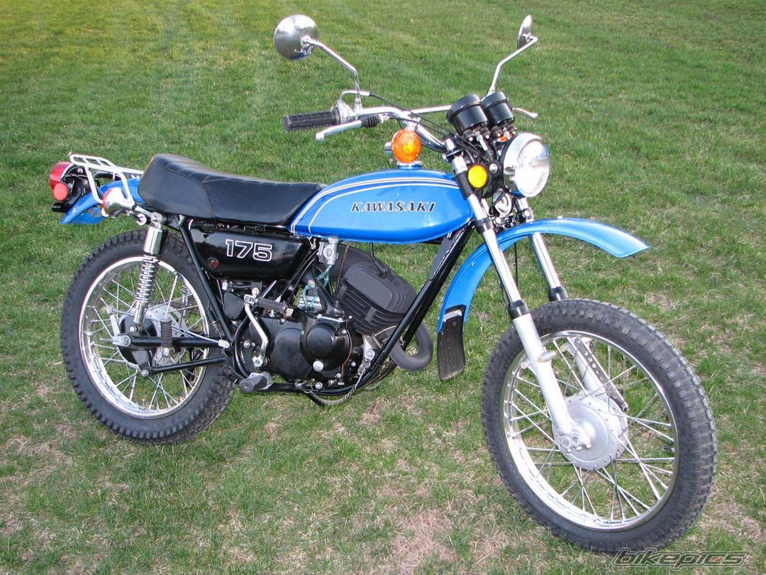 1973 Kawasaki 175 F7 | Motorcycles | Pinterest | Minibike and Dirt