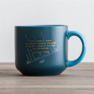 Noble man blueprint jumbo mug isaiah 32 and coffee spoon noble man blueprint jumbo mug malvernweather Gallery