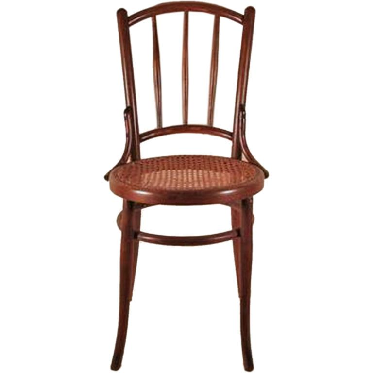 For Sale on - Vintage Michael Thonet Style Bentwood Chair with Original  Caned Seat and Tapered Spindle Back - Vintage Michael Thonet Style Bentwood Chair Bentwood Chairs