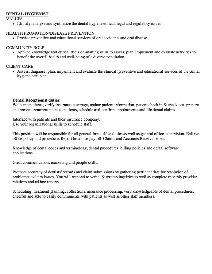 dental assistant skills resume - http://exampleresumecv.org/dental ...