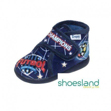 f1b99e0572f10 Para el futuro campeón de la familia zapatillas de casa para niños desde  los primeros pasos