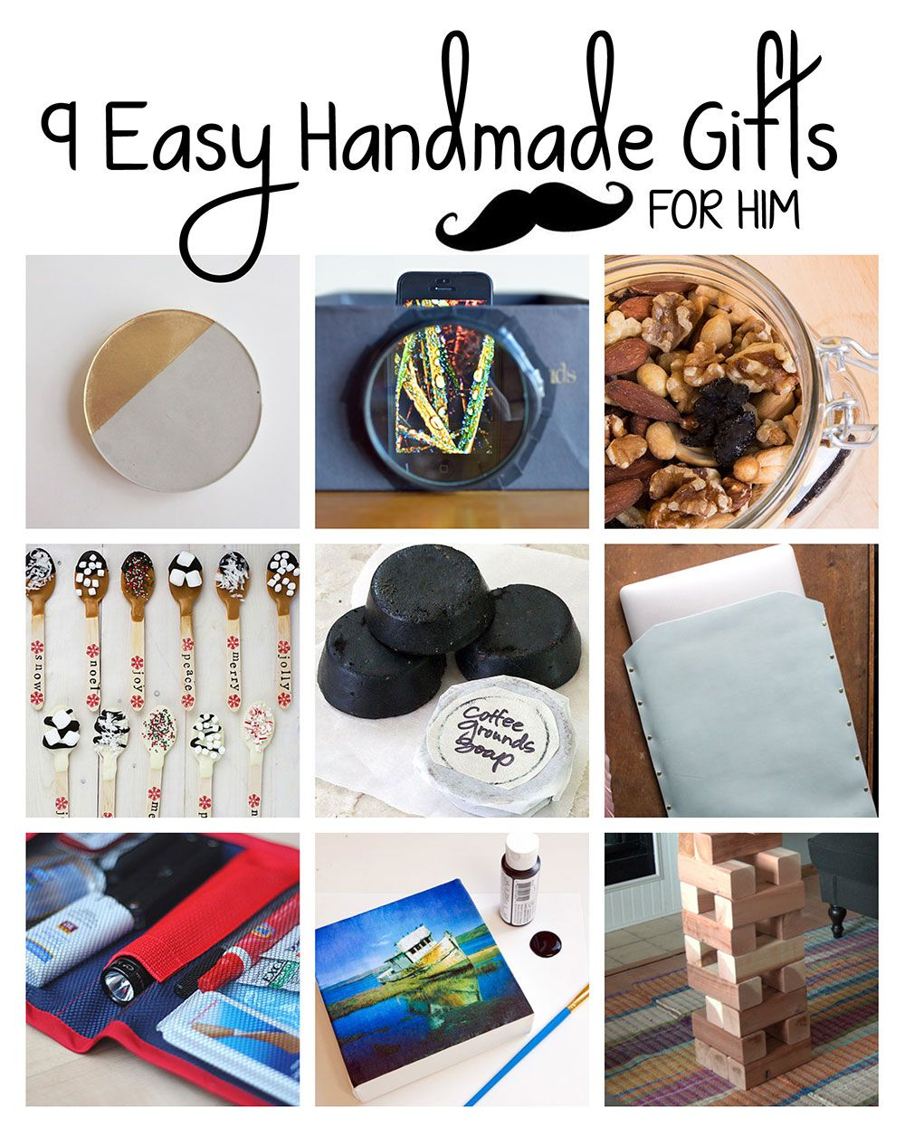 9 Easy Handmade Gifts For Him Handmade Gifts For Him
