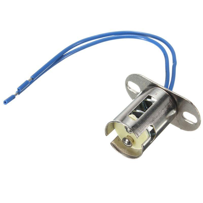 B15 B15d Base Led Light Lamp Bulb Cable Holder Wire Adapter Socket Converter Led Light Lamp Cable Holder Lamp Bulb