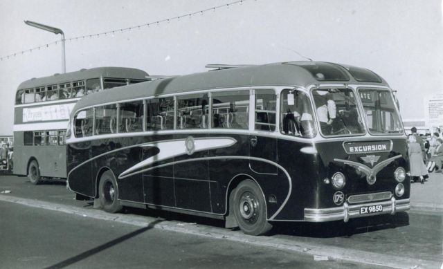 Bus photo aec reliance duple norfolk motor services great for All ride motors norfolk va