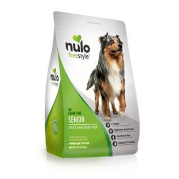 Nulo Freestyle Trout Senior Dry Dog Food Phillips Lansing Horse