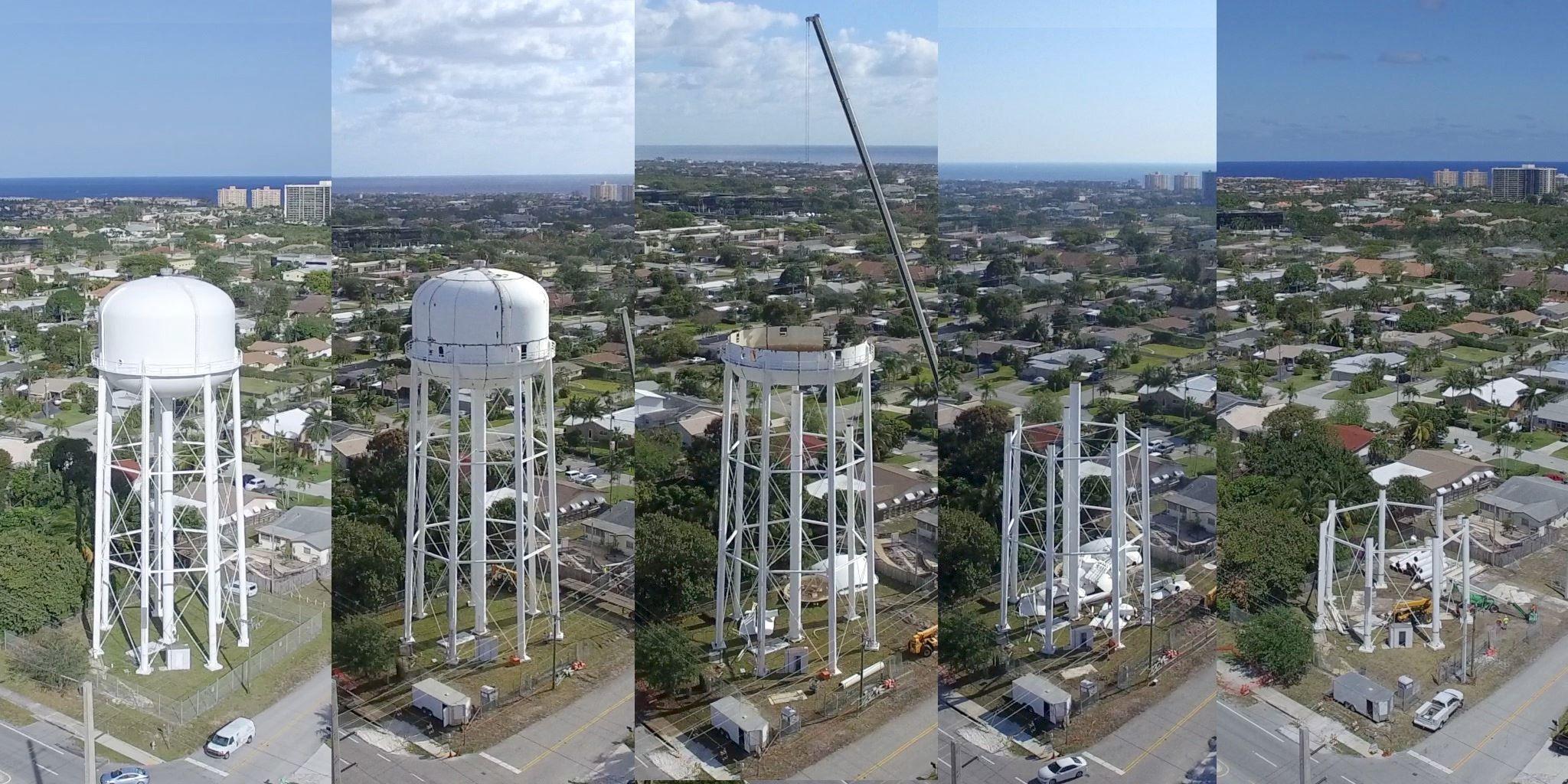 North tower north tower water tower tower