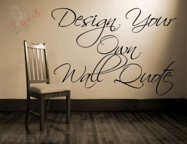 Wall Stickers Design Your Own Words #wallart #Adverts.ie