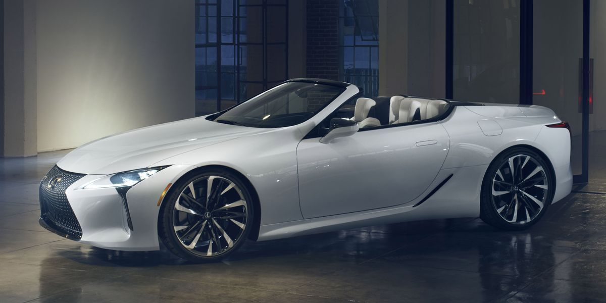 Lexus Lc Convertible Concept Is A Stunning Droptop In 2020 Lexus Lc Lexus Expensive Cars