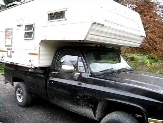 78 The ultimate survival shelter is a slide in truck camper