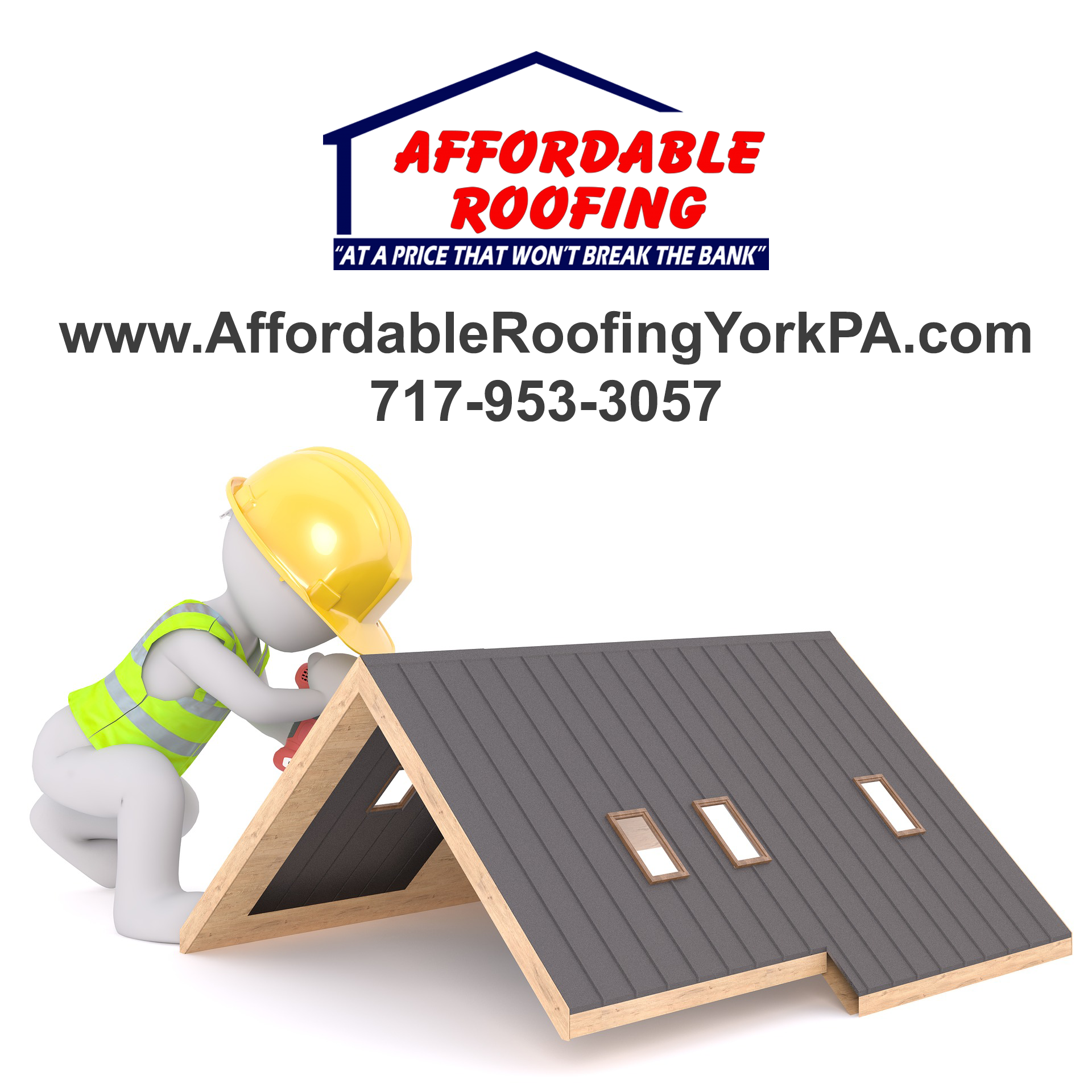 Trust York Pa Roofing Contractor Affordable Roofing For Your New Roof Installation Call 717 953 3057 Www Af Affordable Roofing Roof Installation Roofing