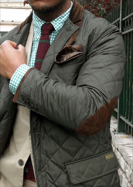 Quilted sport coat