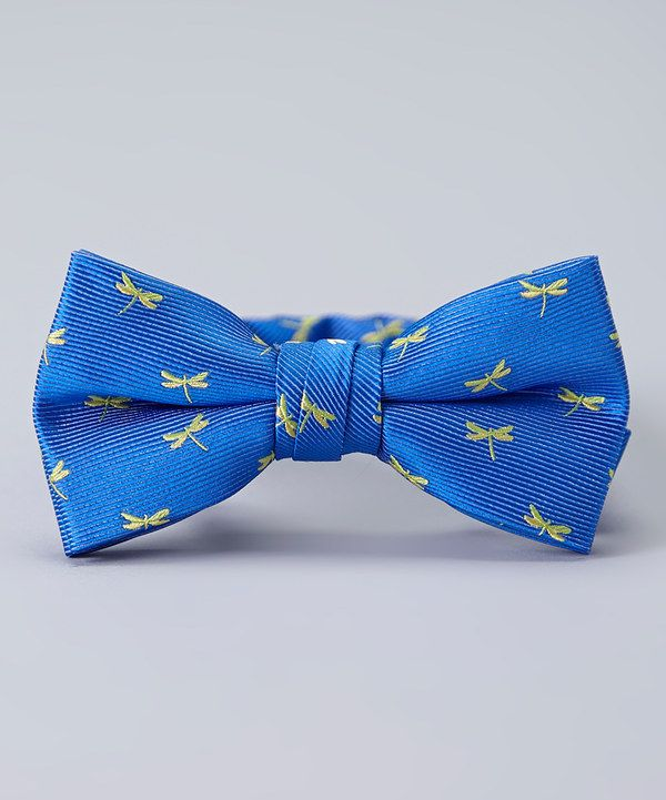 Look At This Blue Amp Green Dragonfly Bow Tie On Zulily