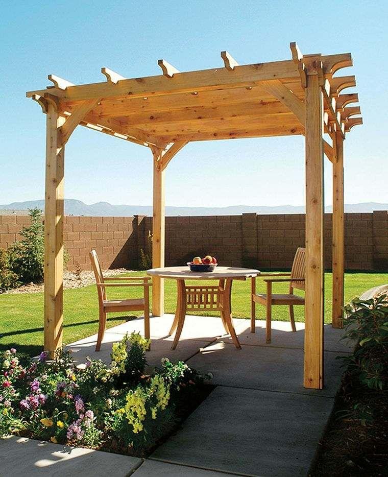 Comment construire une pergola en bois pour décorer sa terrasse - etape pour construire une maison