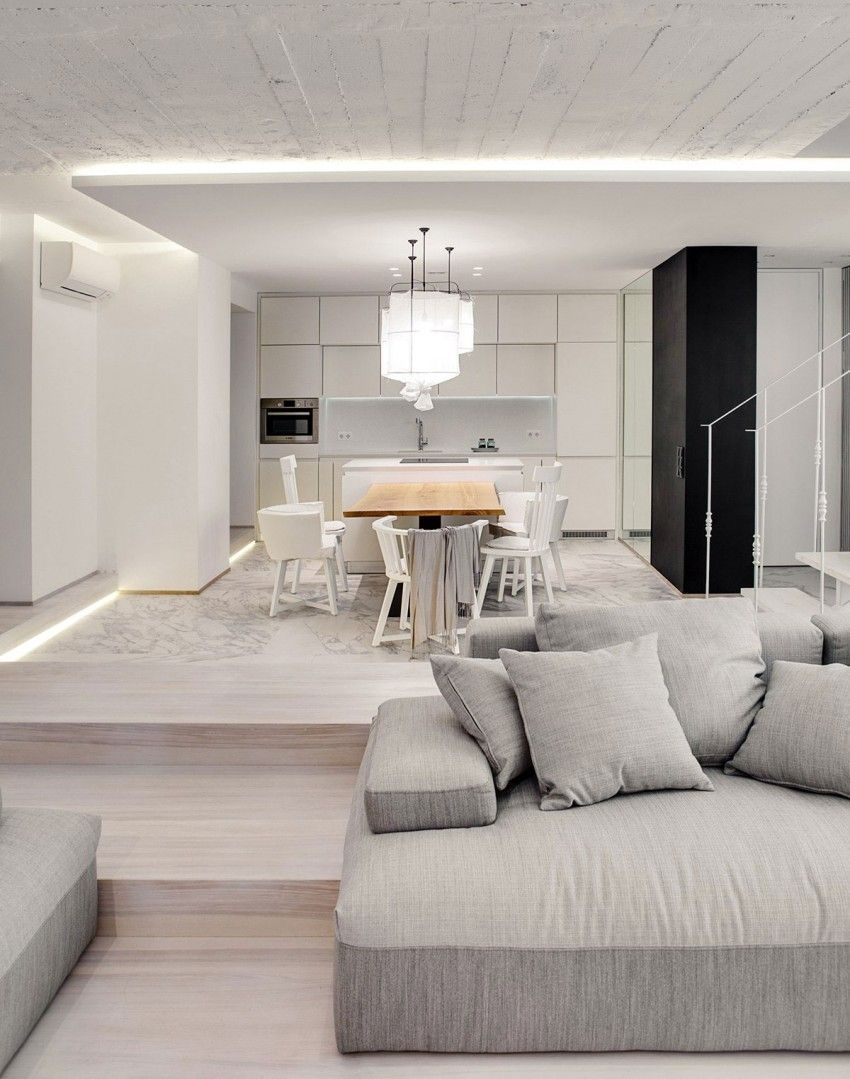 A bright white home by form architectural bureau 6