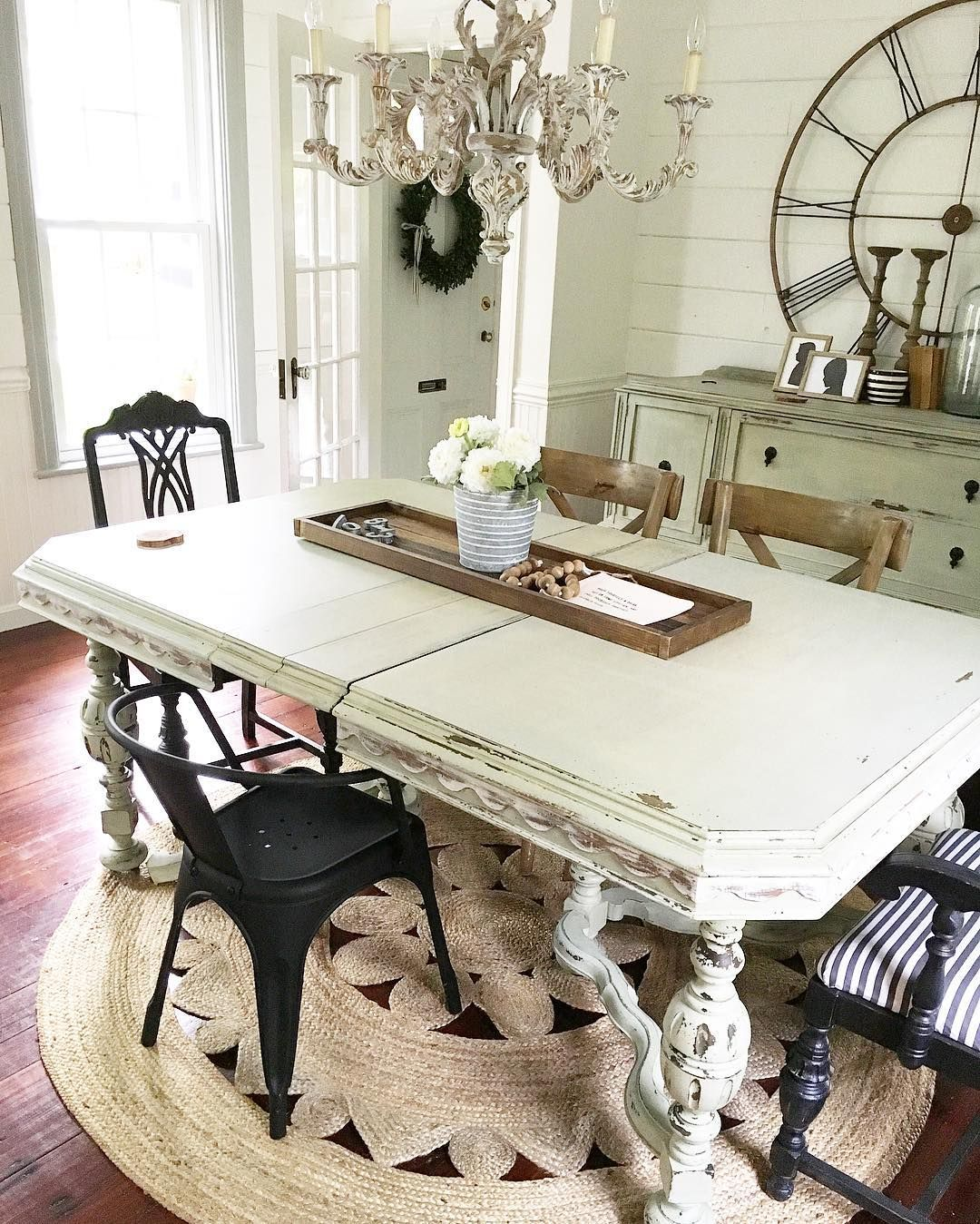 Pinlittle Yellow Cottage On ***cozy Cottage Dining Enchanting Farmhouse Dining Room Table For Sale Inspiration