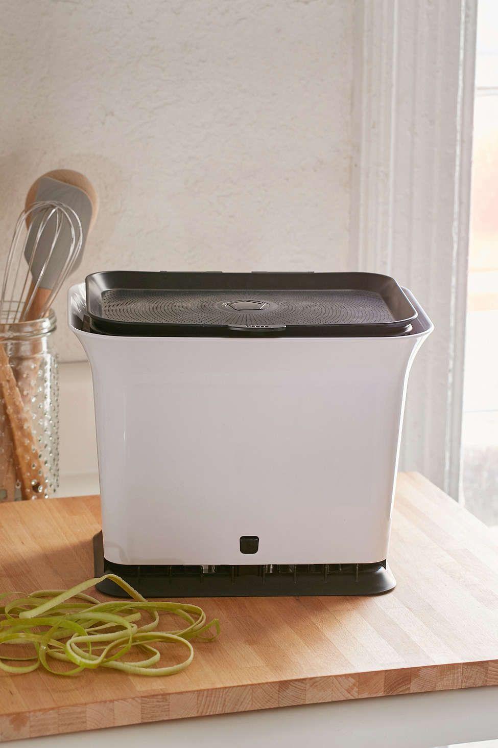 Full circle fresh air odorfree kitchen composting bin
