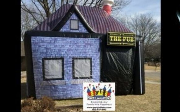 The Irish Inflatable Pub