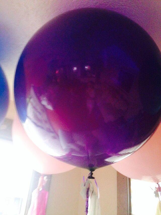 Purple Big balloons #balloons #globos #labonnfete  www.facebook.com/labonnefete.com.mx