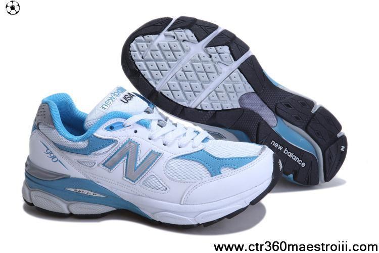 New Balance NB W990WB president running blue White For Men shoes For Sale