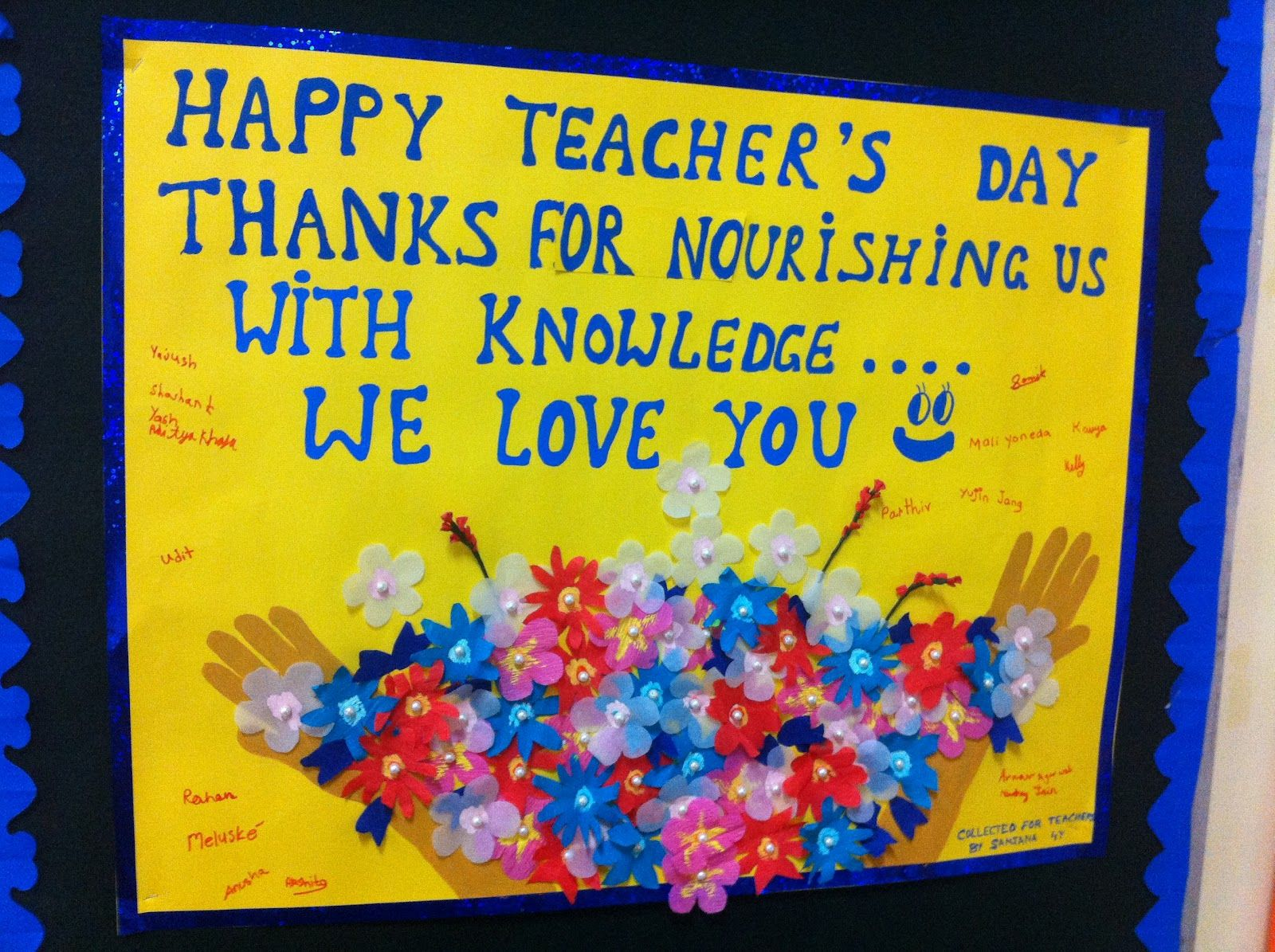 Teachers Day Card Making Ideas Part - 15: Handmade Card For Teachers Day - Bing Images