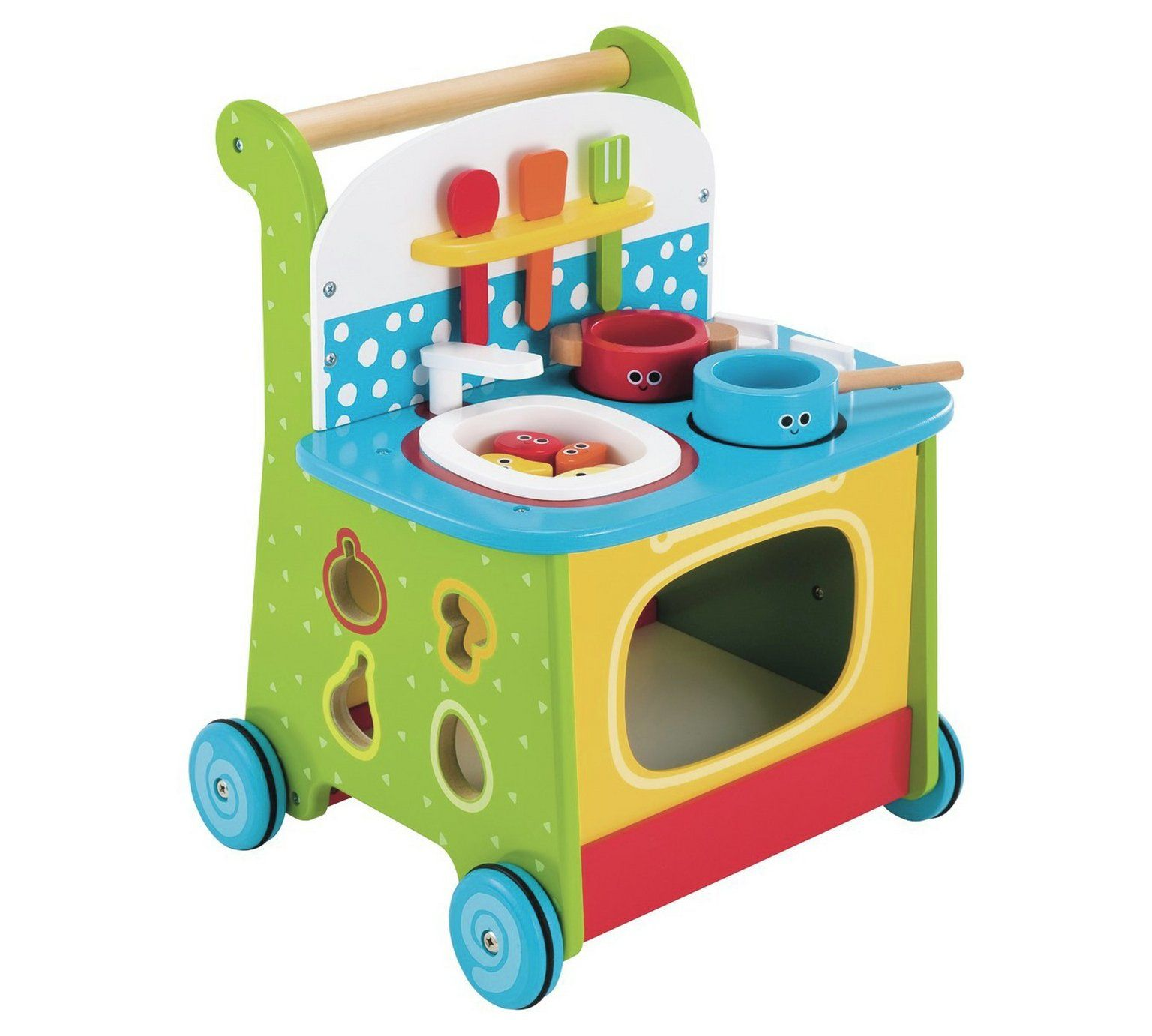 Buy Early Learning Centre Wooden Activity Kitchen Walker