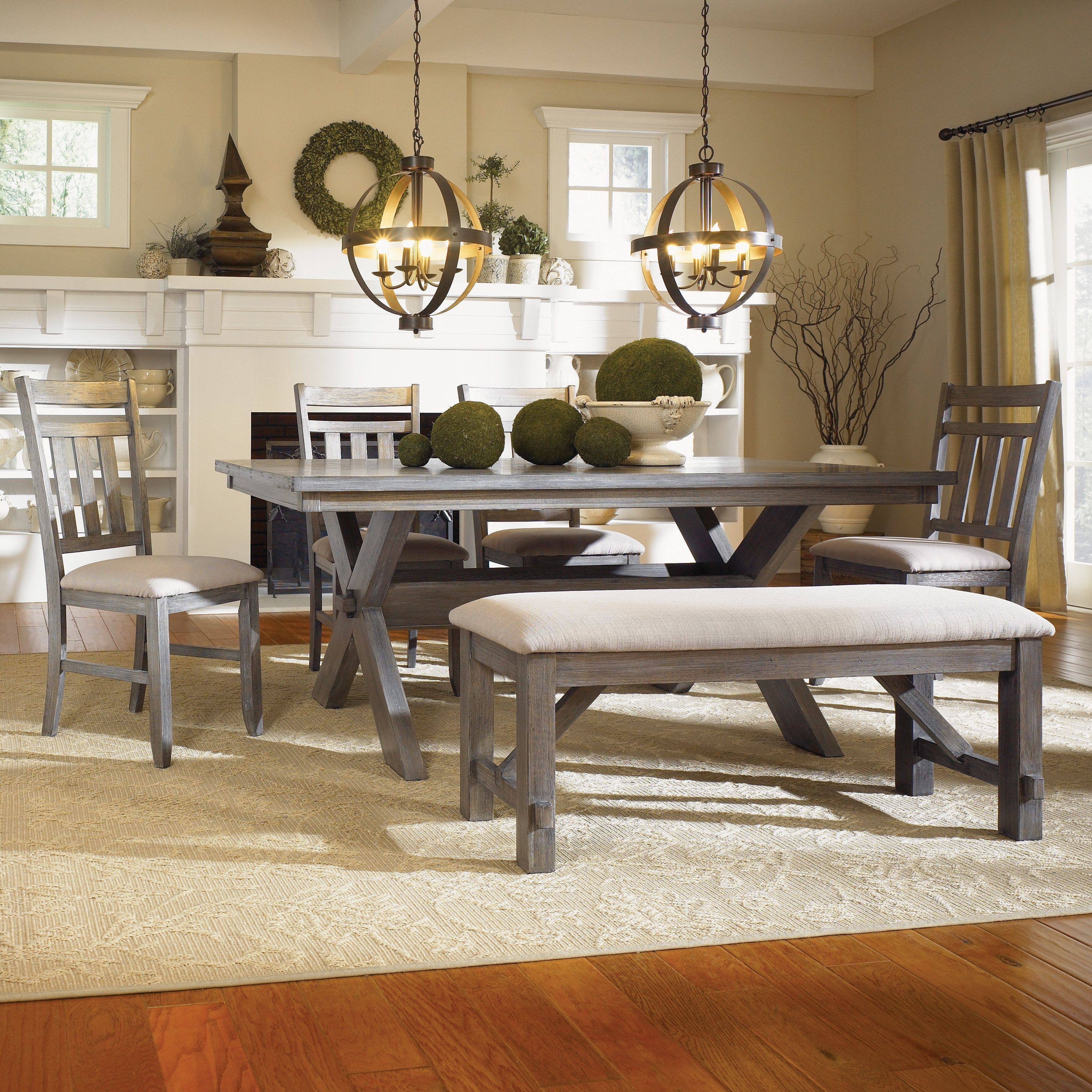 chairs market furniture of rustic set xxx room sets world table do category side unique dining leona wood bench farmhouse