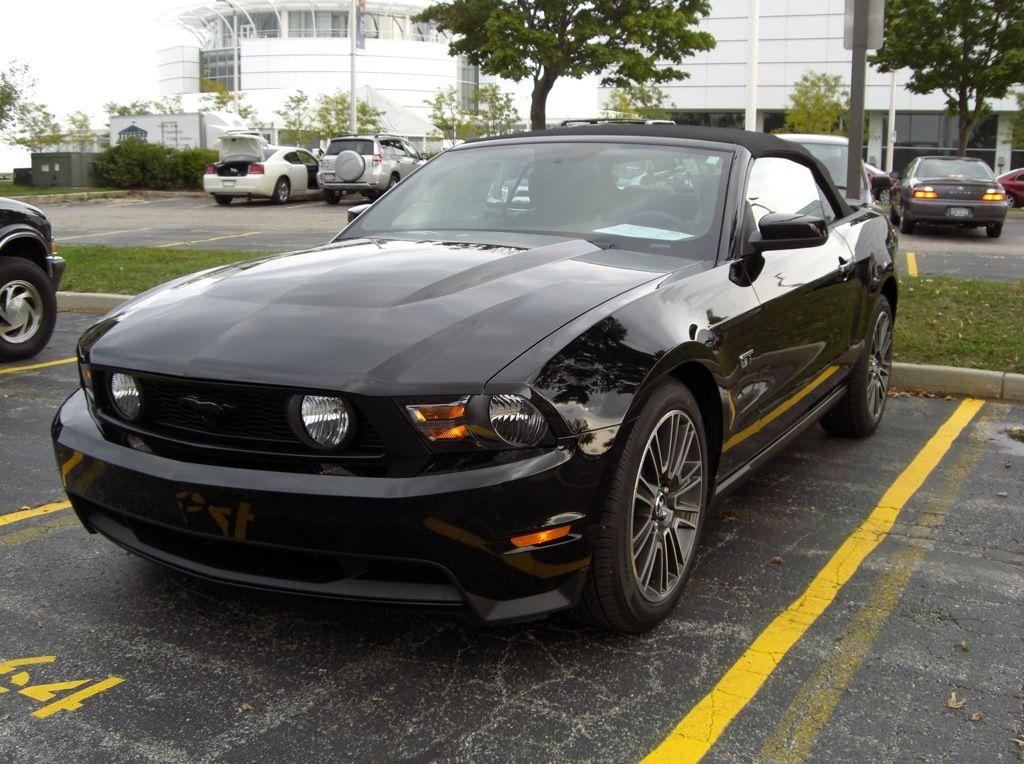 2010 Mustang Black Gt Convertible My Dream Car