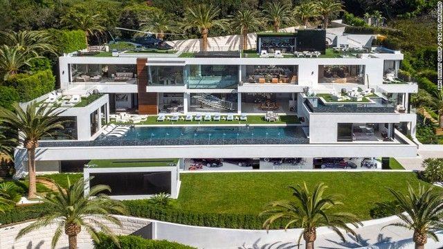 新築280億円 全米一高価な豪邸を見る 画像あり モダンな豪邸
