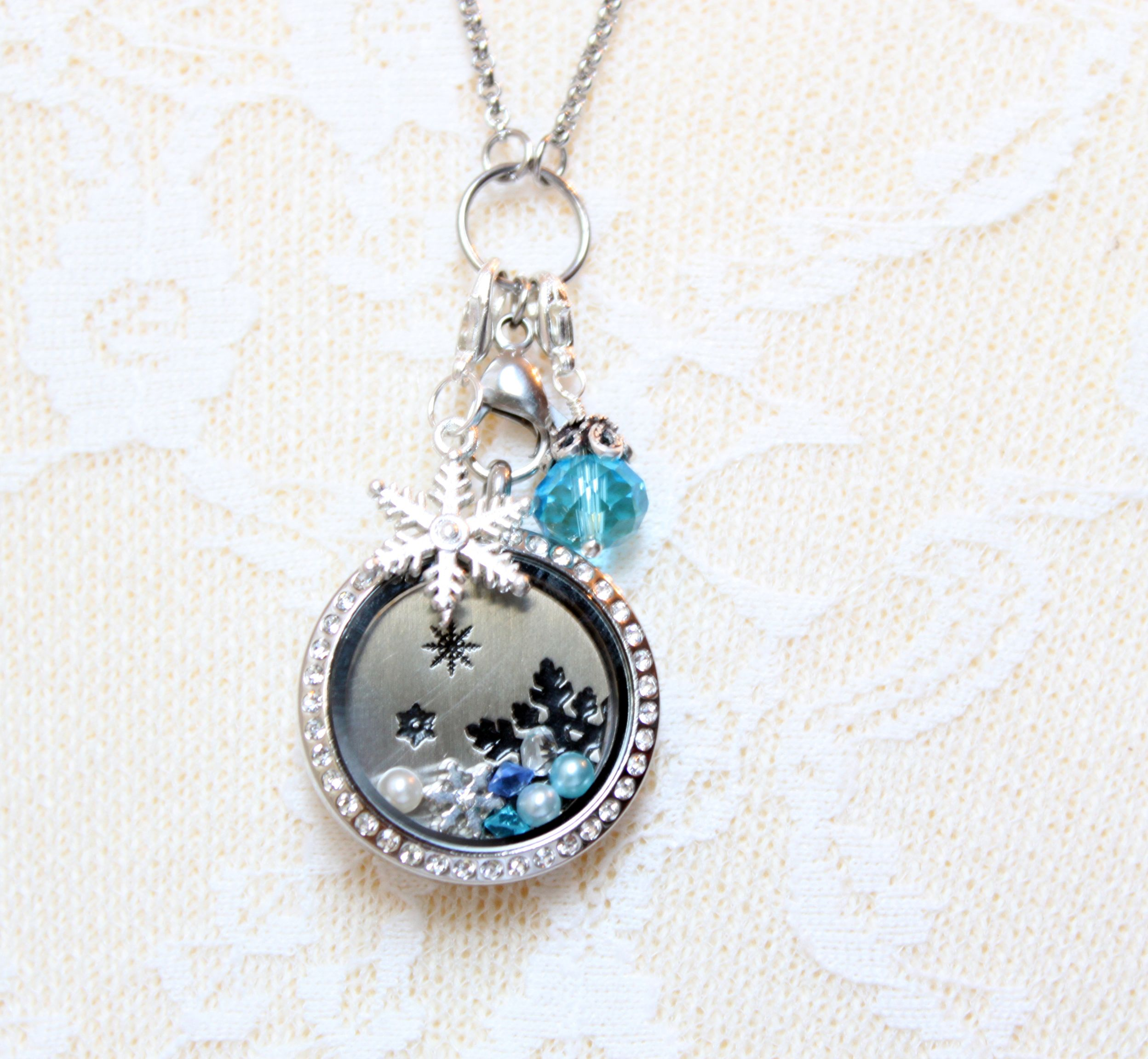 necklace locket mom stainless for lockets memory products steel gift grandma teardrop personalized or floating
