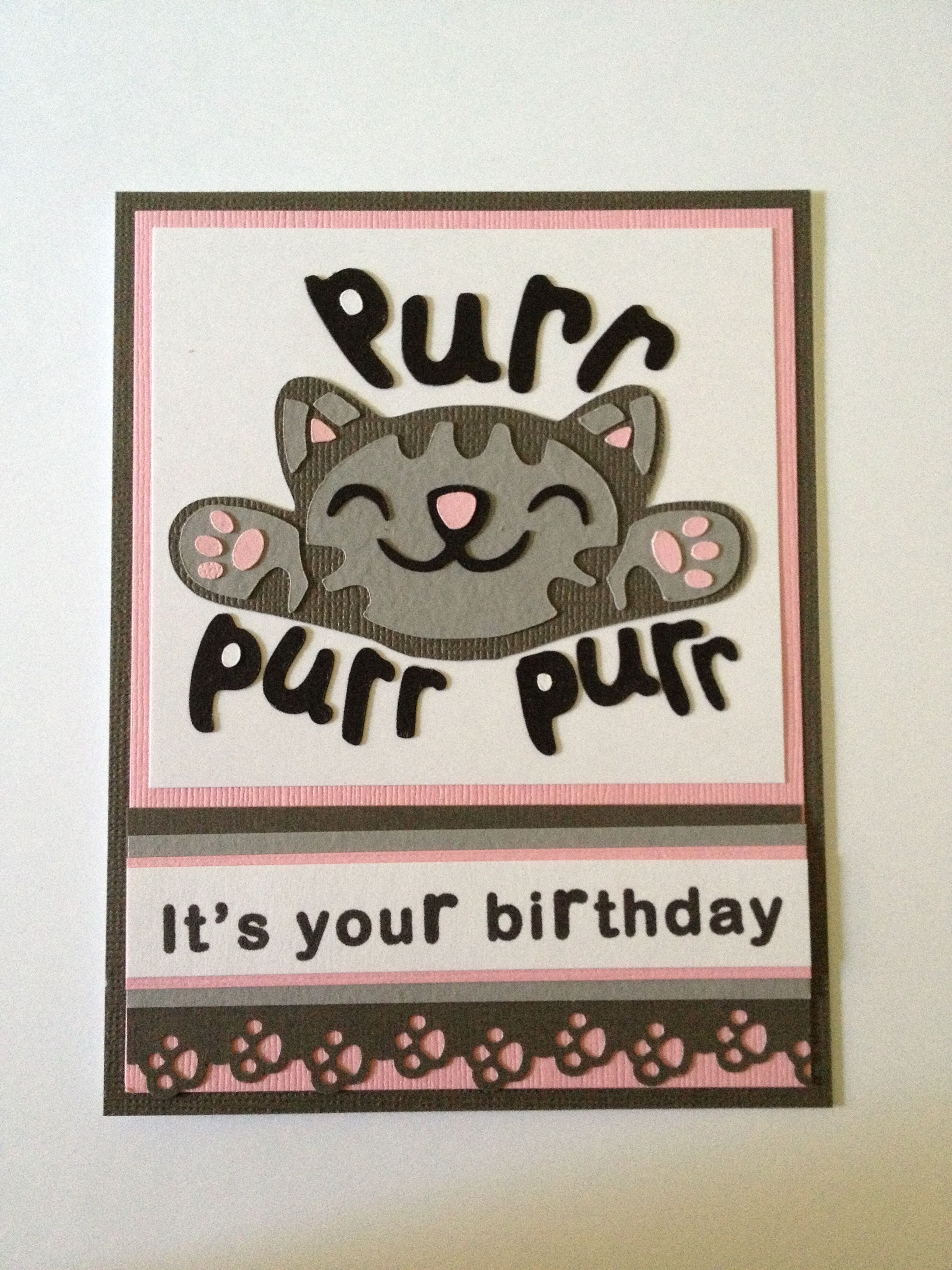 Bazinga Big Bang Theory Soft Kitty Birthday Card Inside Stay Calm