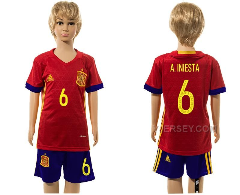 http://www.yjersey.com/6-ainiesta-home-youth-euro-2016-jersey-spain.html Only$35.00 6 A.INIESTA HOME YOUTH EURO 2016 JERSEY SPAIN Free Shipping!