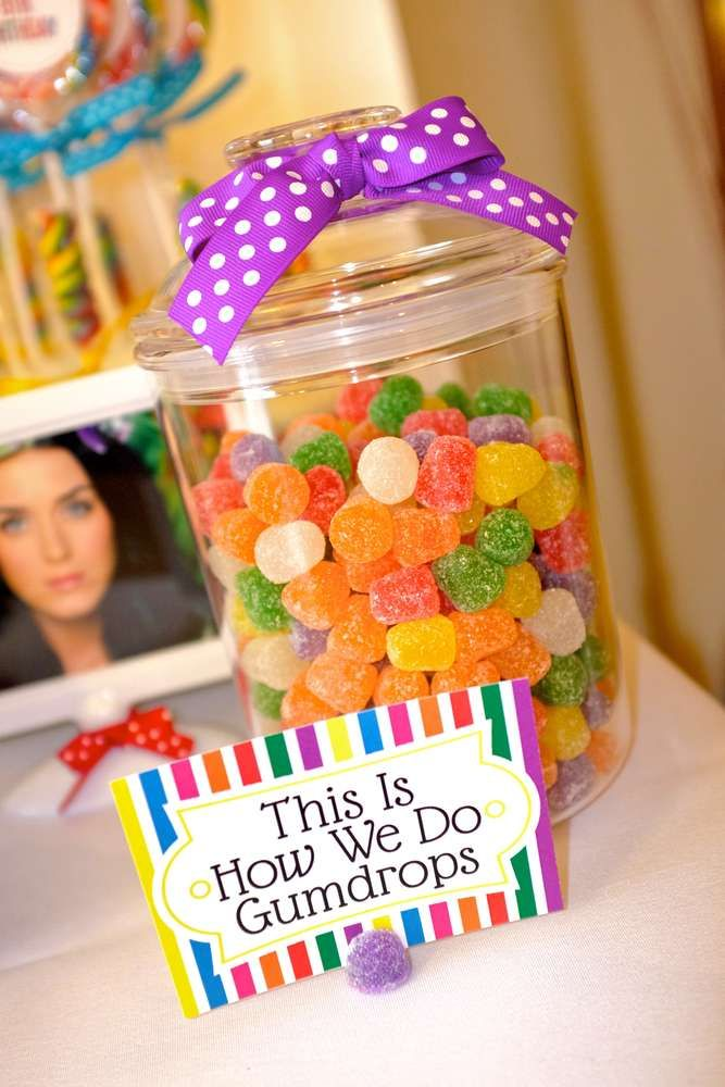 Katy Perry Birthday Party Ideas Katy Perry Candyland And Birthdays