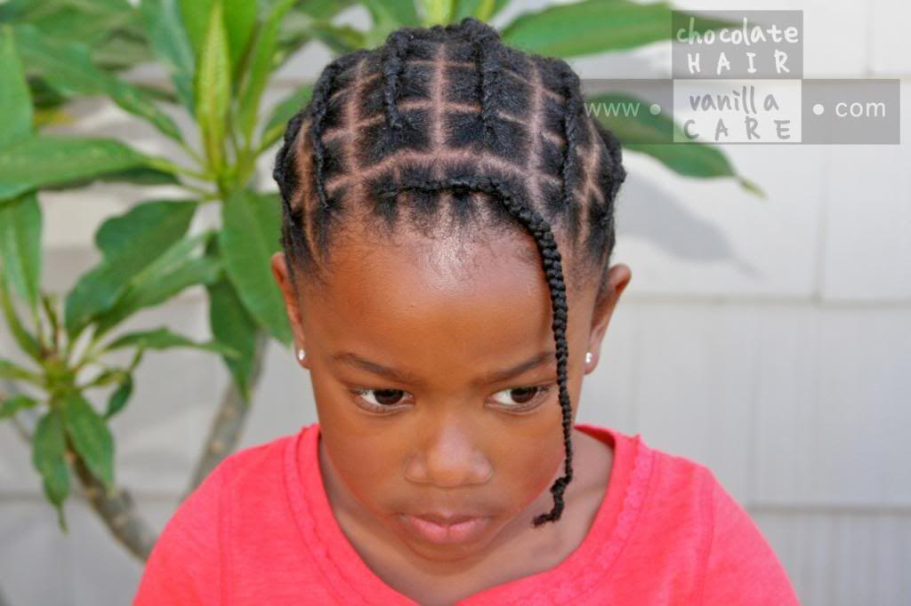 Chocolate Hair Vanilla Care Piggyback Braids Or Faux