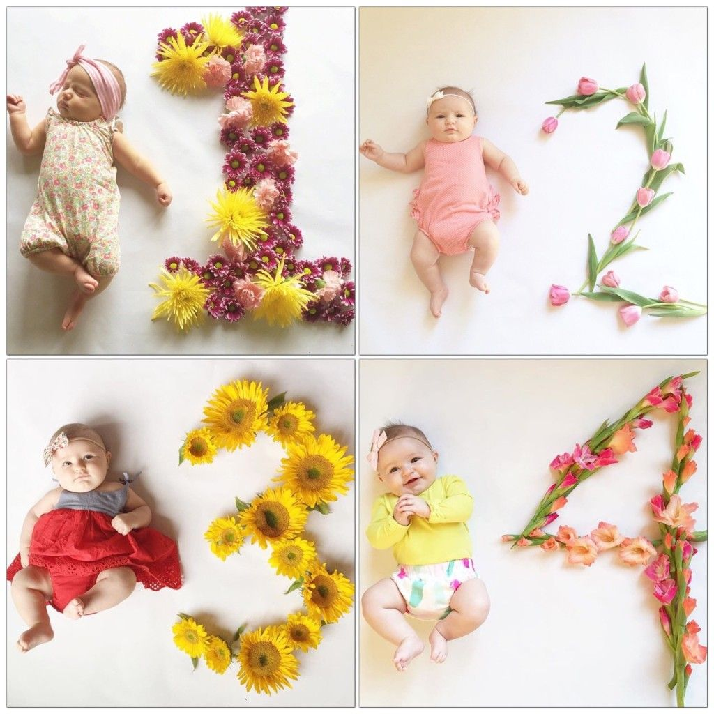 Creative Monthly Baby Photos Monthly Baby Photos Baby Milestones Pictures Monthly Baby Pictures