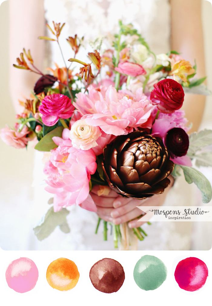 Fabulous Fall : Color Inspiration | Late summer, Weddings and Wedding