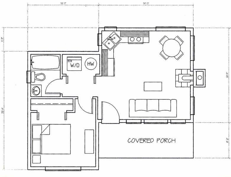cabin blueprint