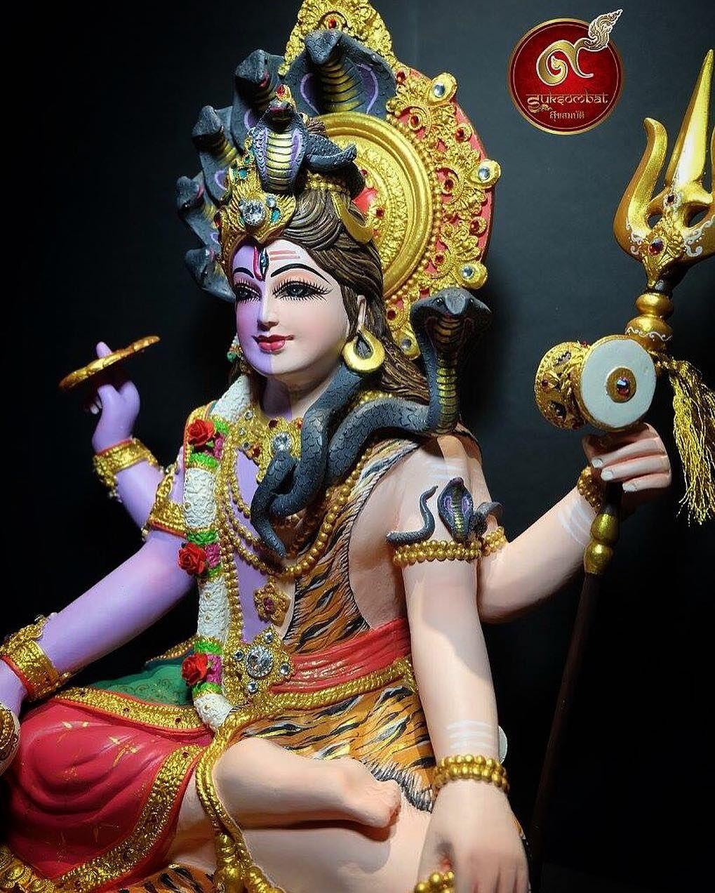 2ร าง พระนารายณ พระศ วะ ส ง 54 Cm กว าง 34 Cm พระศ วะ พระอ ศวร พระองค ทรงประทานพรว เศษให แก ผ หม นกระทำความด Mahakal Shiva Shiva Hindu Gods