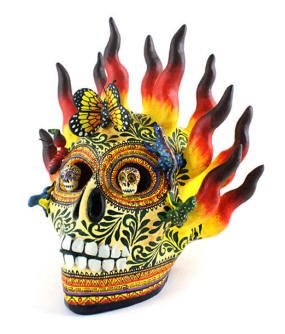 The Day Of Dead Folk Art Gallery I