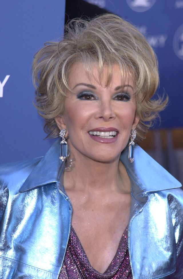 What Is A Comedic Roast Hair Styles Joan Rivers Makeup Joan Rivers