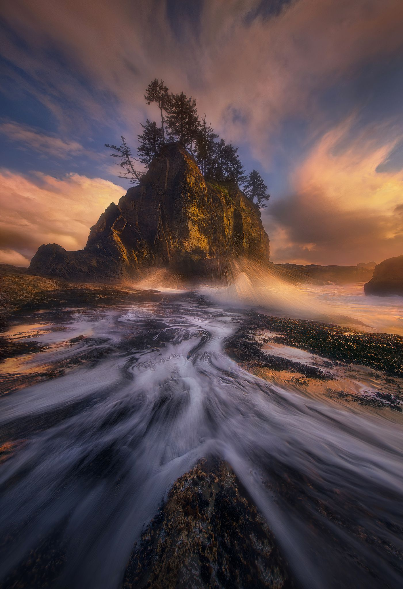 Rush   An Exciting Evening Of Shooting On The Olympic Coast Of Washington  Yielded Us Some