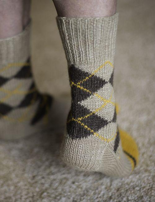 Outlander Argyle Sock Kit - Pattern by Anne Berk ...