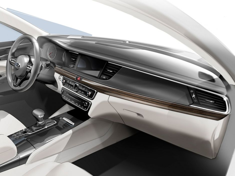 Kia Cadenza (2016) Preis & Marktstart (Update Interior