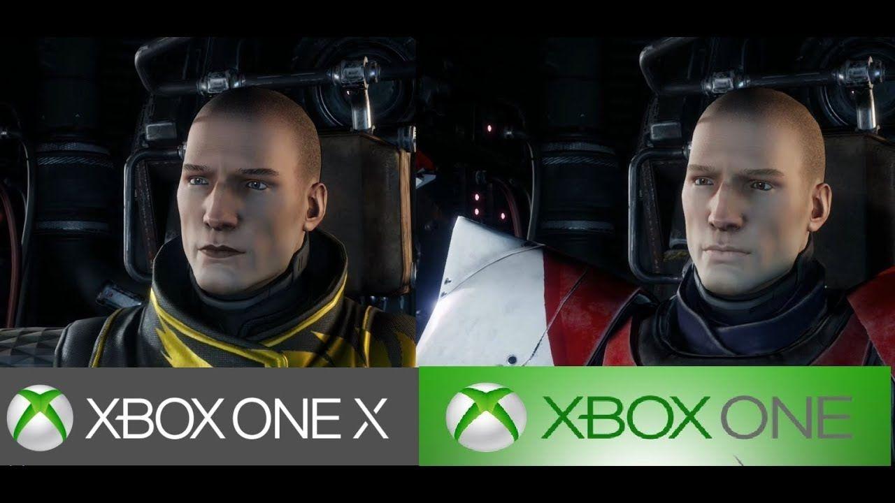 Destiny 2 Xbox One X Vs Xbox One Graphics Commparison 4k Gameplay Games Xboxone Fashion Destiny 2 Xbox Xbox One Destiny