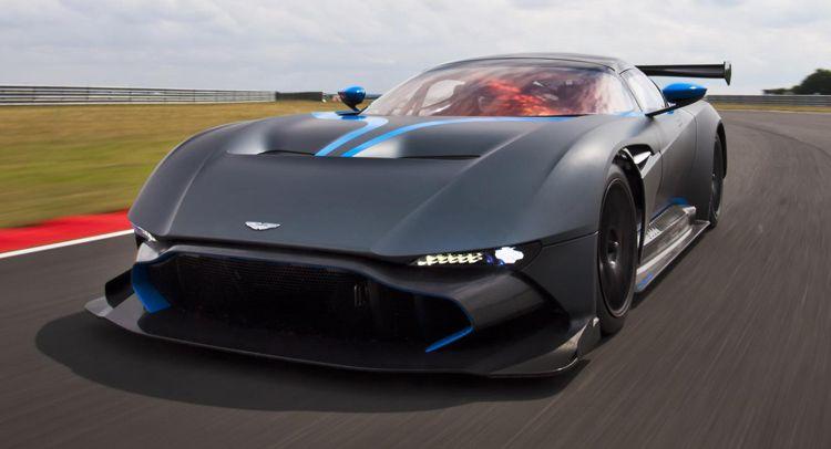 2016 Aston Martin Vulcano