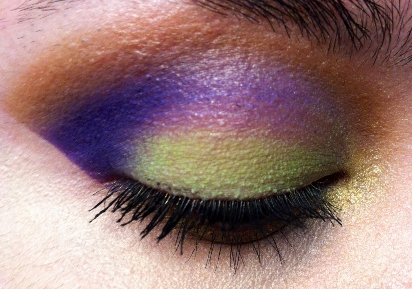 Mardi Gras Eye Look My Makeup Looks And Makeup Pinterest Mardi